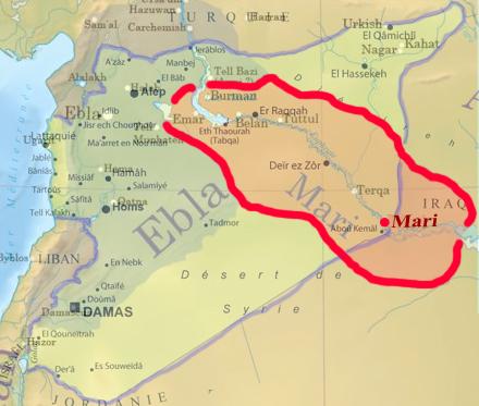 Mari Royaume ca 2400 BCE